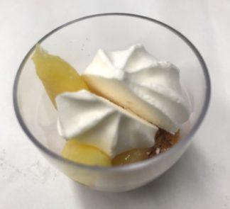 Verrine crème citron